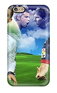 New Lionel Messvs Cristiano Ronaldo Cases Covers, Anti-scratch Gbi12067HkBa Phone Cases For Iphone 6