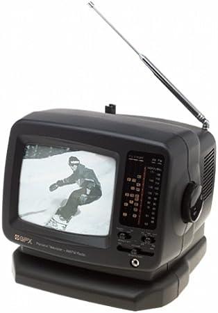 GPX TVP7 TV portátil de 5 Pulgadas con Radio Am/FM: Amazon.es: Electrónica