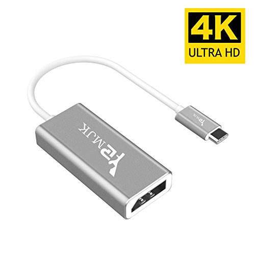 USB Type C Adapter,YRMJK USB C Type to DisplayPort/ DP Adapter Cable With Power Aluminium Case Support 4K 60HZ resolution for Apple New Macbook Pro 2017, Samsung Galaxy S8 by YRMJK (Image #6)