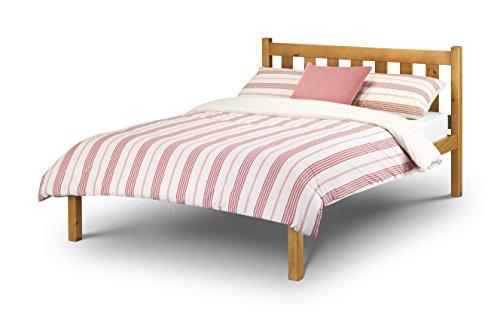 Julian Bowen Poppy Double Bed, Antique Pine (Bedsteads Antique)