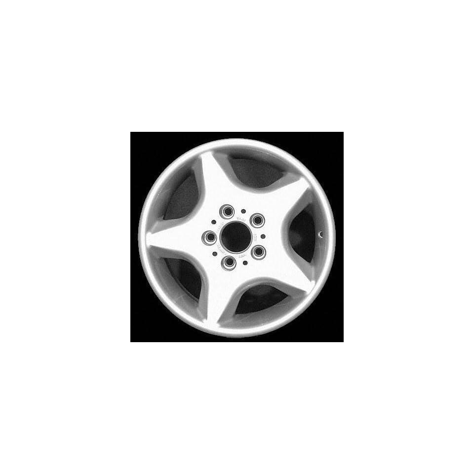 98 99 BMW 323I 323 i ALLOY WHEEL RIM 16 INCH, Diameter 16, Width 7 (5 FLAT SPOKE), 46mm offset Style #16, SILVER, 1 Piece Only, Remanufactured (1998 98 1999 99) ALY59219U10