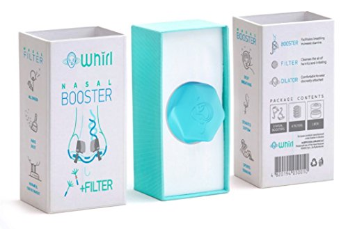 Easy breath with nasal dilator, nasal booster and filter for breathing during sleep, physical workout, sport activity and outside stroll (Daydream Duck)