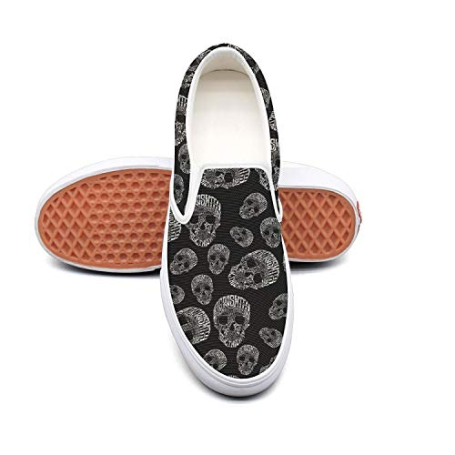 SPHAT Men's Aerosmith- Classic Casual Canvas Slip On Shoes Sneakers