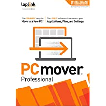PCmover Professional 11 (1 Use)  [PC Download]