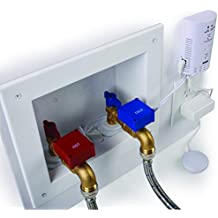Automatic Laundry Water Leak Detector and Shut-Off System for Washing Machine Outlets, Flood Stopping and Water Leak Detection