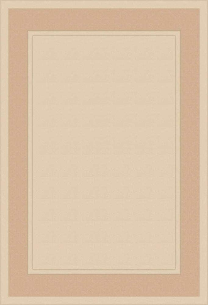 Unfinished MDF Square Flat Panel Cabinet Door by Kendor 22H x 15W