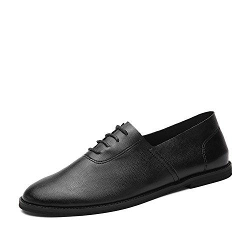 Zapatos ocasionales del negocio del verano/Zapatos de los hombres salvajes en ingles Negro