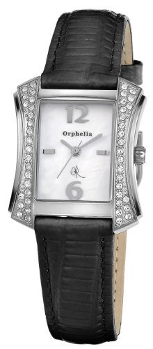 Orphelia OR22170214 - Women's Watch, Leather, Black Color