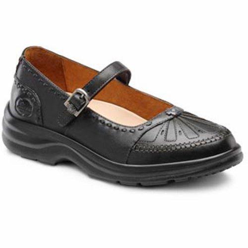 Dr. Comfort Paradise Womens Terapeutico Diabetico Extra Profondità Scarpa In Pelle Velcro In Peltro