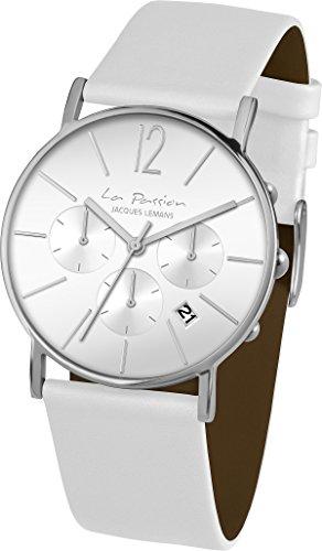 Jacques Lemans La Passion LP-123B Wristwatch for women Flat & light