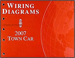 2007 lincoln town car original wiring diagrams: lincoln: amazon com: books
