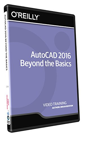 AutoCAD 2016 Beyond the Basics - Training DVD by Infiniteskills
