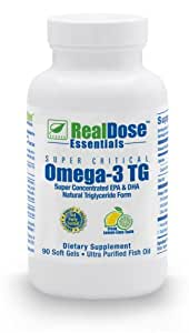 Doctor Formulated Omega 3 Fish Oil Softgels - Pharmaceutical Grade Fish Oil Supplement with 2,400 mg of Omega-3 Fatty Acids - 1,200 mg EPA + 750 mg DHA per Serving - Burpless Softgels (90 Count)