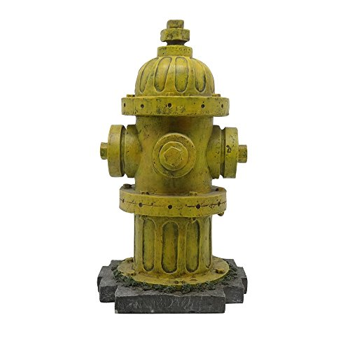 Turtle King D83347 Fire Hydrant Statue for Home or Garden...
