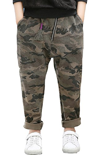 Youth Camouflage 6 Pocket Pants - 7