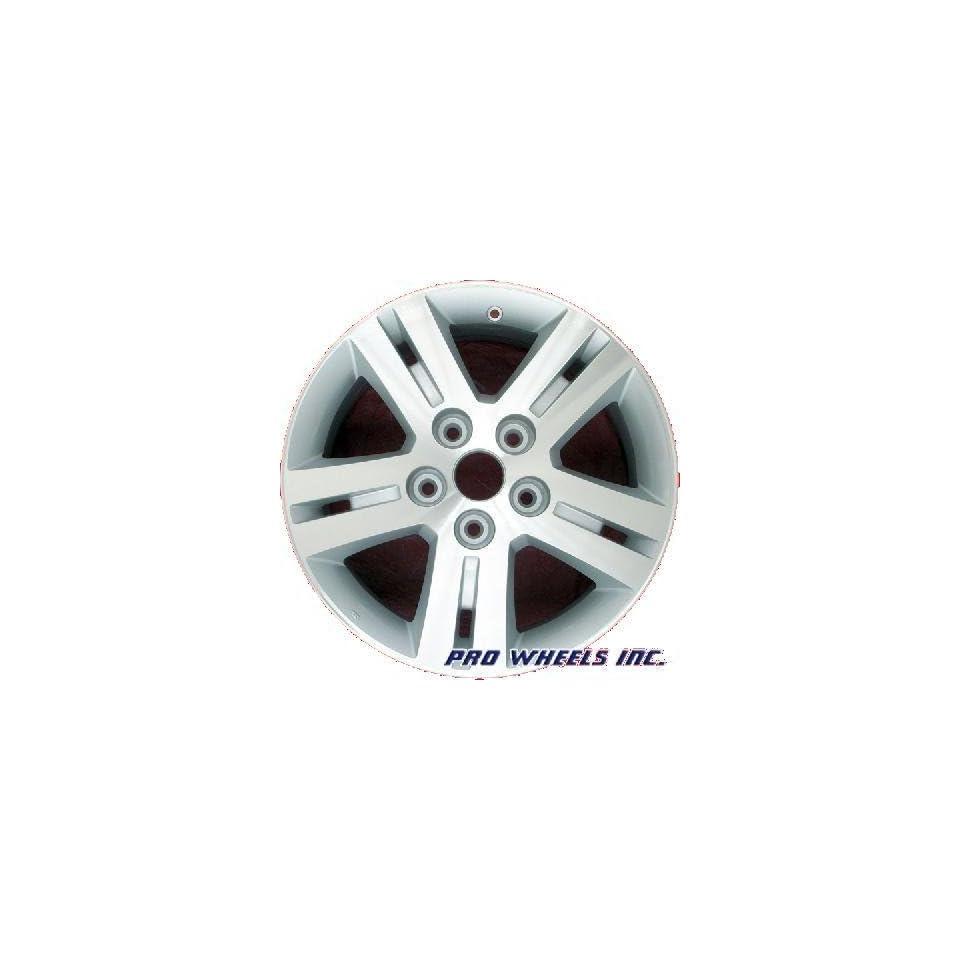 Dodge Grand Caravan 17X6.5 Machined Silver Factory Original Wheel Rim 2335