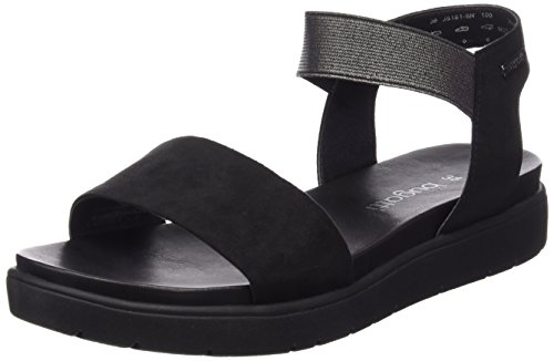Bugatti J81816 - Sandalias de tobillo Mujer Negro - negro