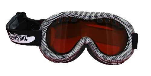 Baby Banz Ski Banz Goggles, Black/White (Best Toddler Ski Helmet)