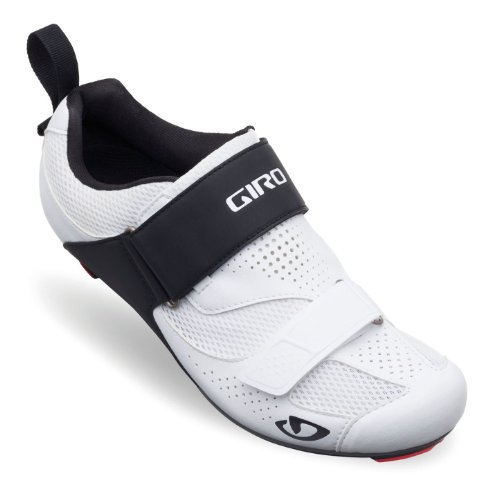 Giro Men's Inciter Tri Cycling Shoes, White/Black, Size 43