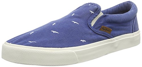 572forces Herren Sneakers Jeans Birds Harry Blau Elastic Pepe wqxH6nRgF0