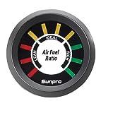 #9: Sunpro CP8210 Electrical Air Fuel Ratio - Black Panel