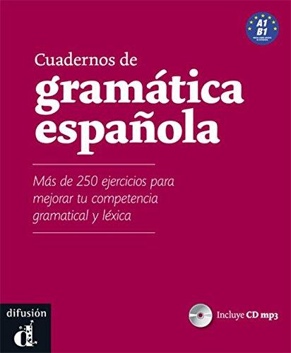 Cuadernos de gramatica espanola A1-B1. Libro + CD audio