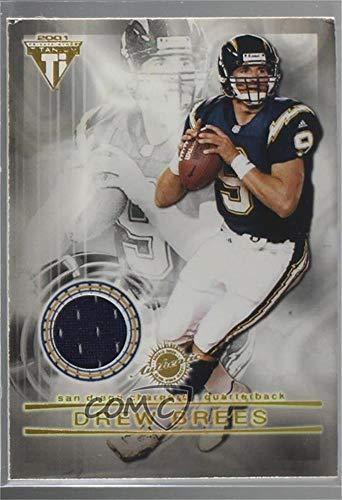 Drew Brees; LaDainian Tomlinson (Football Card) 2001 Pacific Private Stock Titanium - Dual Game-Worn Jerseys #29