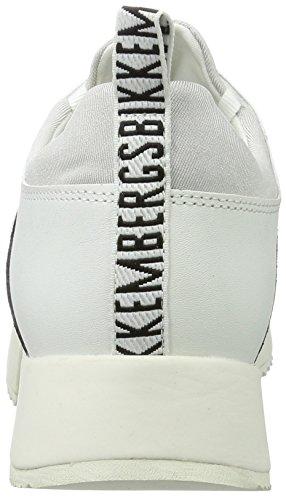 Odissey Basses white black Bikkembergs 060 Femme Blanc 880 Pgcqd