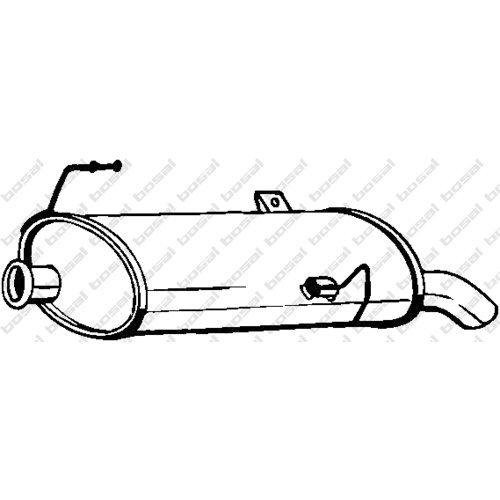Bosal 190-505 Silencieux arriè re