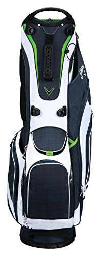 Callaway Golf 2018 Fusion Stand Bag, Titanium/White/Acid Green