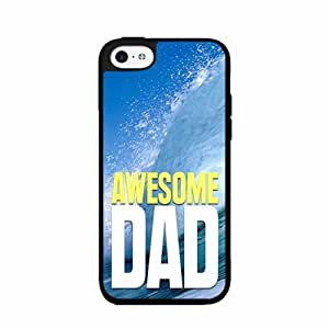 Awesome Dad Plastic Phone Case Back Cover iPhone 4 4s