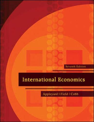 International Economics (The Mcgraw-Hill Series Economics)