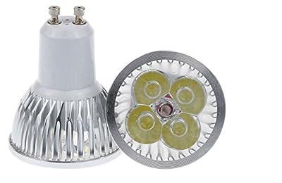 JKLcom GU10 LED Bulbs 4W GU10 LED Bulb LED Spotlight Bulbs for Recessed Track Lighting,Cool White 6000K,40 Watt Equivalent,8 Pack