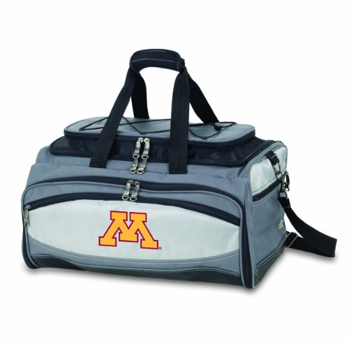 NCAA Minnesota Golden Gophers Buccaneer Tailgating Cooler with Grill by PICNIC TIME