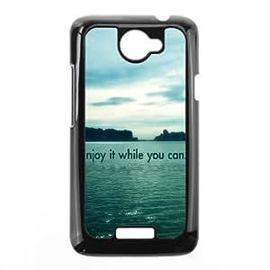 HTC One X Cell Phone Case Black Enjoy It Hkivy