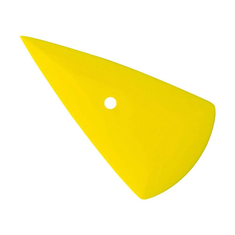 Juego de7 pel/ículas protectoras de vidrio para veh/ículos,herramientas de envoltura de vinilo del cortador,herramientas de envoltura de vinilo para autos Enjugador de contorno de goma para conquistador