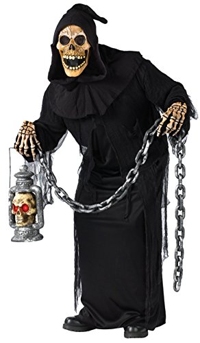 [Grave Ghoul Adult Costume (Plus)] (Adult Grave Reaper Costumes)
