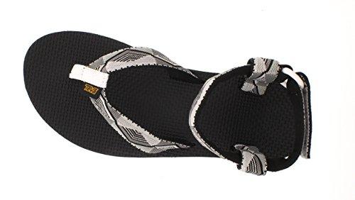 TevaOriginal Sandal Ws - Sandalias Atléticas mujer Negro - Black (Pyramid Wild Dove 788)