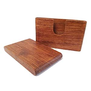 Superior Business Name Card Holder Wood Case From Kyuet