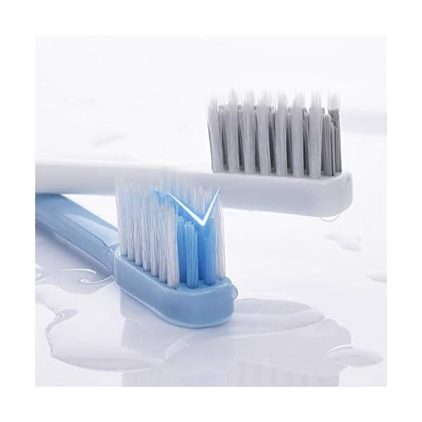 y-kelin v-shaped ortodontico spazzolino a setole morbide (4 pacchi) 3 spesavip