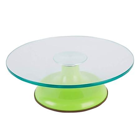 Tocadiscos de Cristal para Tartas de cumpleaños, Base ...