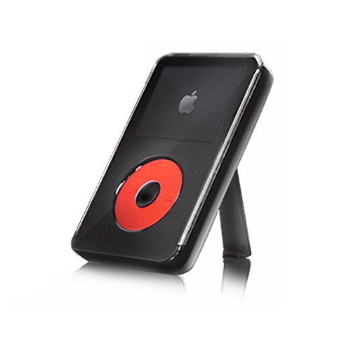 Iskin Ipod Case (iSkin Claro Multimedia Player Case for iPod Classic - Polycarbonate - Red, Black)