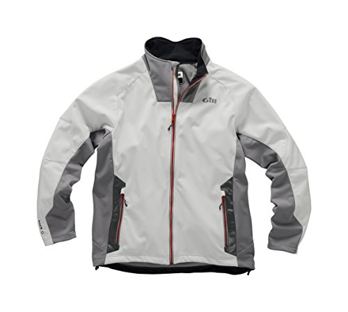Gill Race Softshell Jacket Silver MD