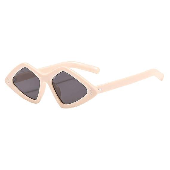 HCFKJ Gafas De Sol Unisex Ligeras E Irregulares De Moda ...