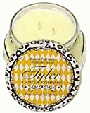1 X BUTTER VANILLA Tyler 22 oz Scented 2-Wick Jar Candle