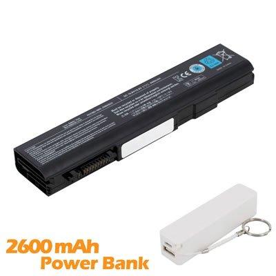 Battpit Bateria de repuesto para portátiles Toshiba Tecra M11-SP4002L (4400mah/48wh) con 2600mAh Banco de energía/batería externa (blanco) para Smartphone: ...