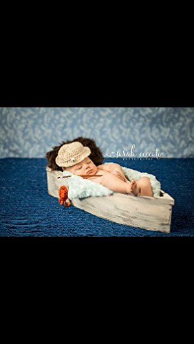 NEW to Amazon Photography prop, Wooden Boat, Photography Baby Bed. Boat, Newborn Photo Prop by From The Coast 2 The City