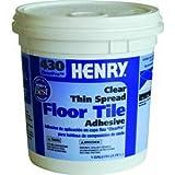 Henry No.430 Floor Tile Adhesive Beige Tub 1 Gl
