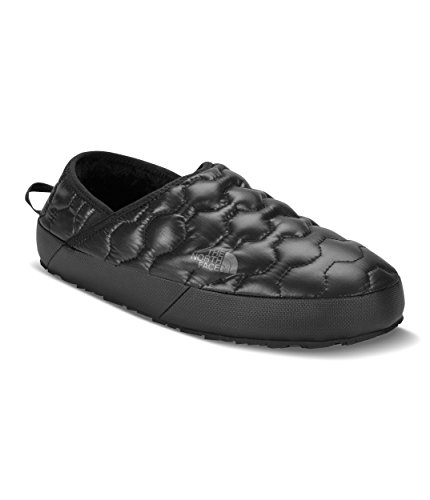 The North Face Men's Thermoball Traction Mule Iv - Shiny TNF Black & Dark Shadow Grey - 11
