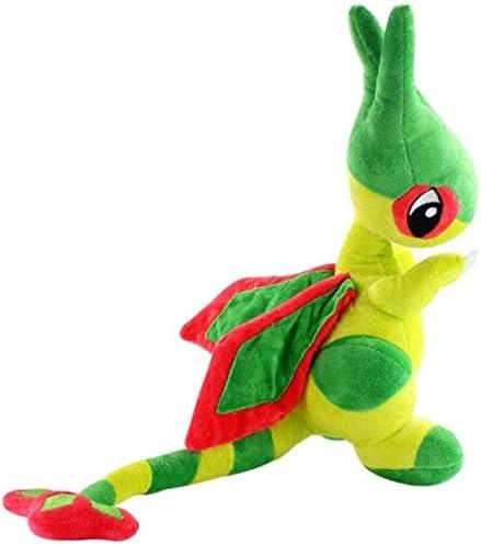 N/D 30cm Desert Dragonfly Plush Doll Pet Elf Flygon Toy Anime Game Character Ragdoll Child Birthday Gift